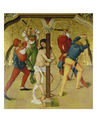 Passion Altar: Christ at the Martyrdom Column, about 1470/80