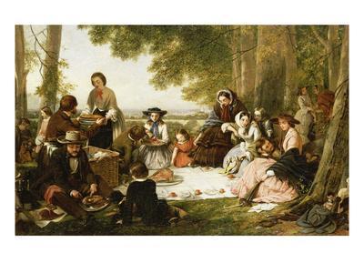 A Picnic, 1856