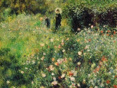 Woman with Parasol in a Garden, 1873