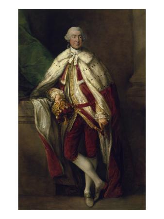 James, 8th Earl of Abercorn, in Peer's Robes, 1778