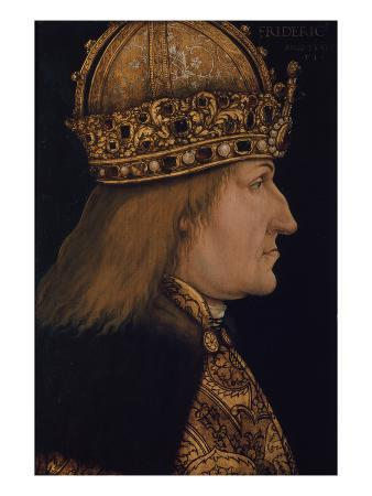 Emporer Friedrich III.(1415-1493) Painted Following the Example of 1468