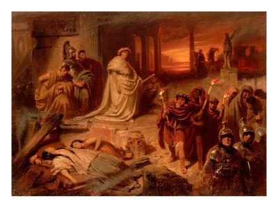 Nero on the Ruins of the Burning Rome