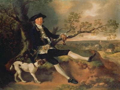 Portrait of John Pamplin. Probably About 1752