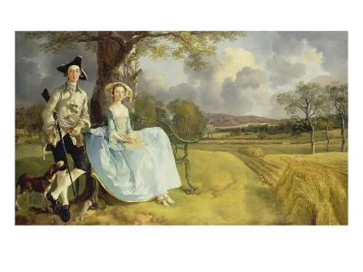Mr and Mrs Andrews, about 1750