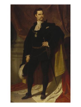 Ludwig Ii. of Bavaria as Hubertusritter