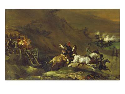 Auffahrende Artillerie, um 1814