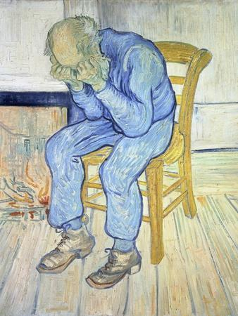 On the Threshold of Eternity (Old Man in Sorrow), 1890