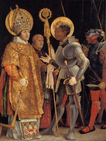 Saint Erasmus and Saint Maurice