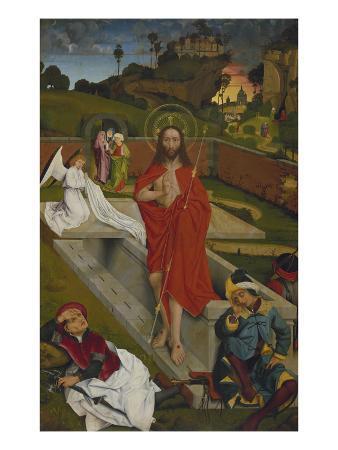 Hofer Altar, Re.Fluegel Innen: Auferstehung Christi