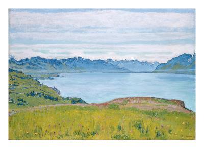 Landscape at Lake Geneva, 1907