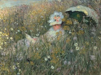 In the Flowering Meadow (Dans La Prairie), 1876