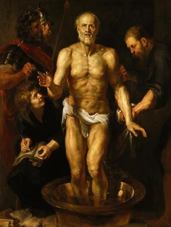 The Dying Seneca, about 1611