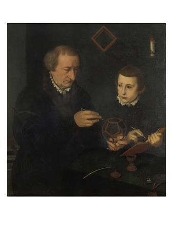 Johannes Neudoerfer the Elder (1497-1563) with His Son