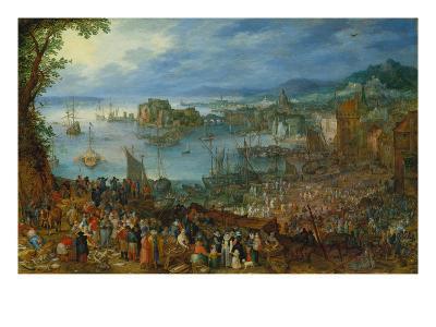 Large Fishmarket, 1603
