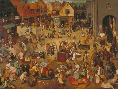 Der Kampf Zwischen Fasching Und Fasten, 1559