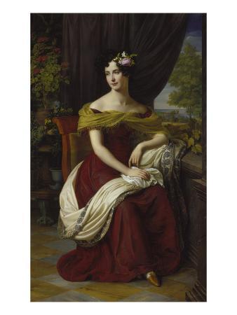 Portrait of Fanny Ebers, 1826