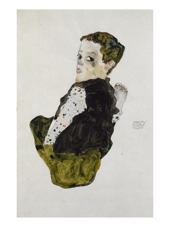 Seated Boy, 1911