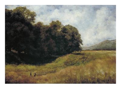 Field Road Near Kronberg, 1877