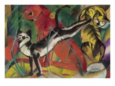 Three Cats, 1913
