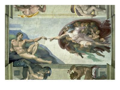 The Sistine Chapel: Creation of Adam, 1510