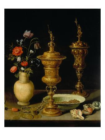 Still Life with Flowers and Goblets, 1612