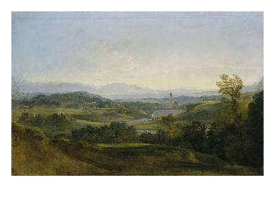 View on Dietramszell. Ante 1818
