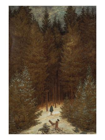 Hunter in the Forest, about 1813/1814