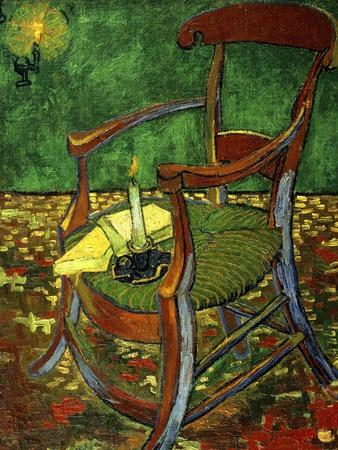 Gauguin's Chair (With Candle), 1888