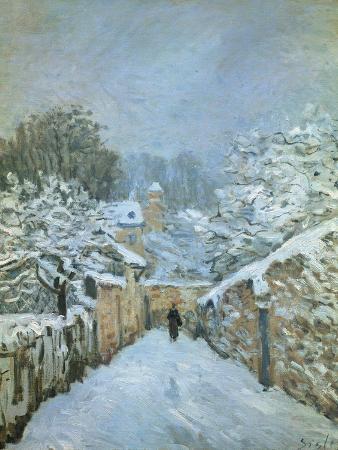 Snow at Louveciennes, 1878