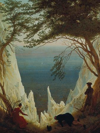 Chalk Cliffs on Ruegen, 1818/1819