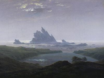 Felsenriff Am Meeresstrand, 1824