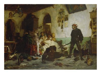 Ulrich Von Hutten Fighting Agaist French Noblemen, about 1869