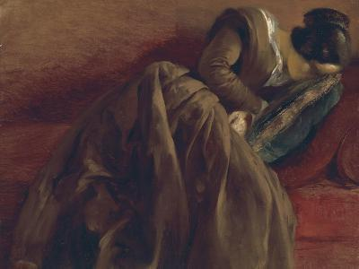 Emilie, the Artist's Sister, Asleep, about 1848