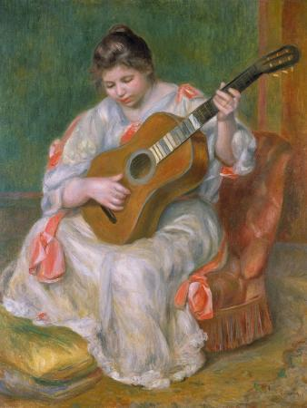 Woman with Guitar, 1897