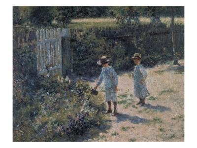 In the Garden (Wogrodzie), 1892