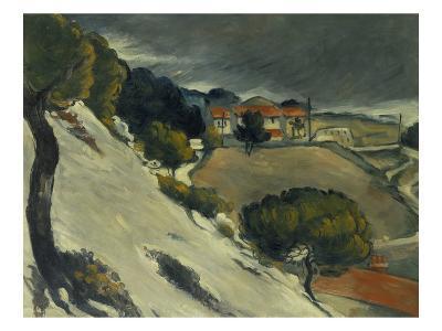 First Snow Near L'Estaque, 1870