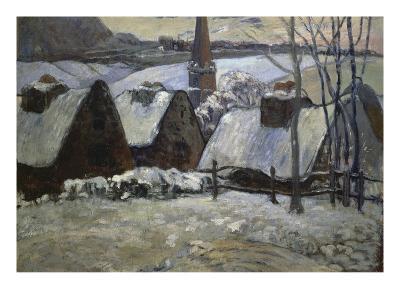 Breton Village in Winter, 1894
