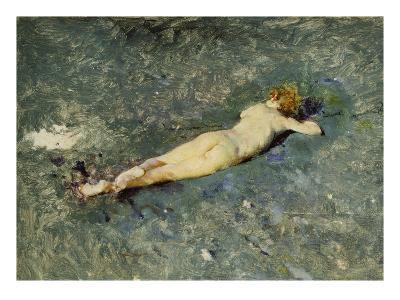 A Nude on the Beach