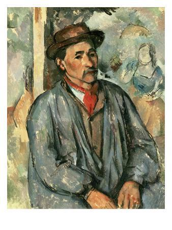 Farmer in Blue Shirt, 1895/97