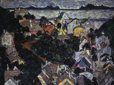 Kleinstadtlandschaft, 1917
