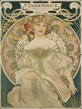 Poster for F. Champenois, 1897