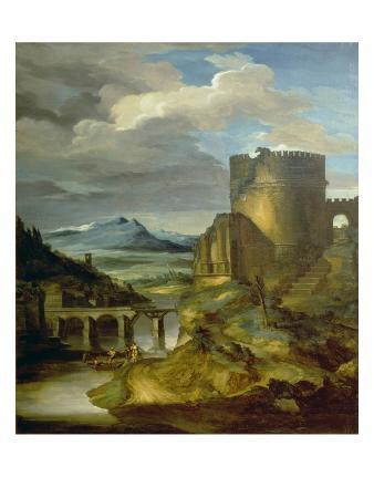 Landscape with Roman Tomb (The Morning), 1817/1820