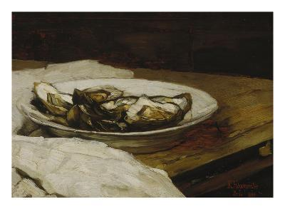 A Plate with Oysters, 1884