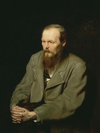Portrait of Fyodor Dostoyevsky, 1872