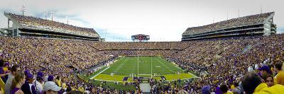 Louisiana State University: Endzone View of Tiger Stadium