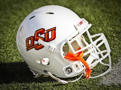 Oklahoma State University: OSU Football Helmet