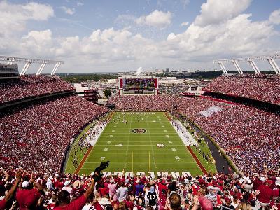 University of South Carolina: South Carolina: Williams-Brice Stadium Endzone View