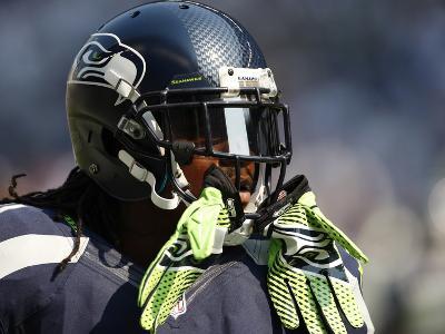 Seattle Seahawks - Sept 16, 2012: Marshawn Lynch