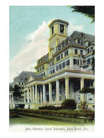 Palm Beach, Florida - Royal Poinciana Main Entrance View