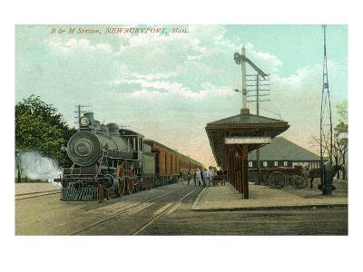Newburyport, Massachusetts - Boston and Maine Railway Station